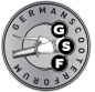 Preview: GSF Sticker silber, klein, 45mm Ø