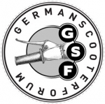 GSF Sticker transparent, groß, 75mm Ø
