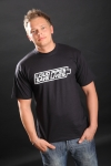 T-Shirt, Loud Pipes Save Lives, schwarz