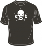 T-Shirt, Guilty Skull, oliv