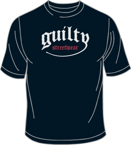 T-Shirt, Guilty Classic, blau