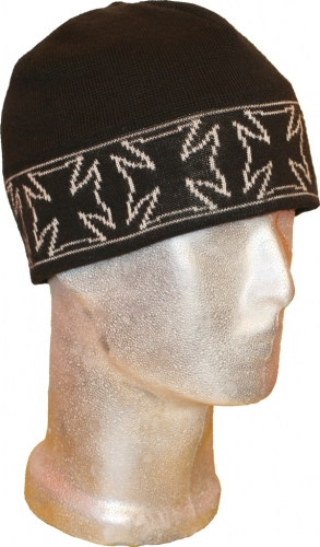 Beanie Iron Cross