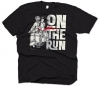 T-Shirt, On the Run -NEU-